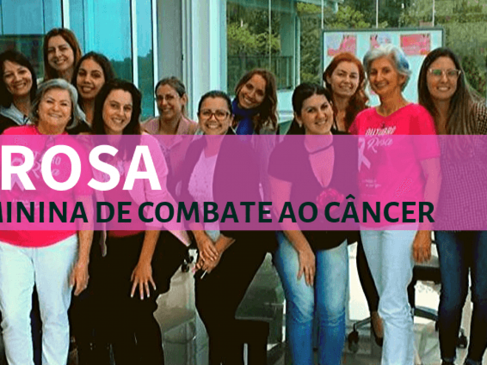 Outubro Rosa: Palestra da Rede Feminina de Combate ao Câncer
