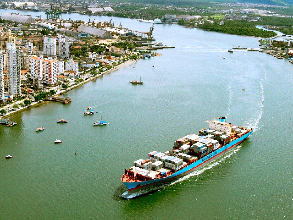 Os 5 principais portos do Brasil